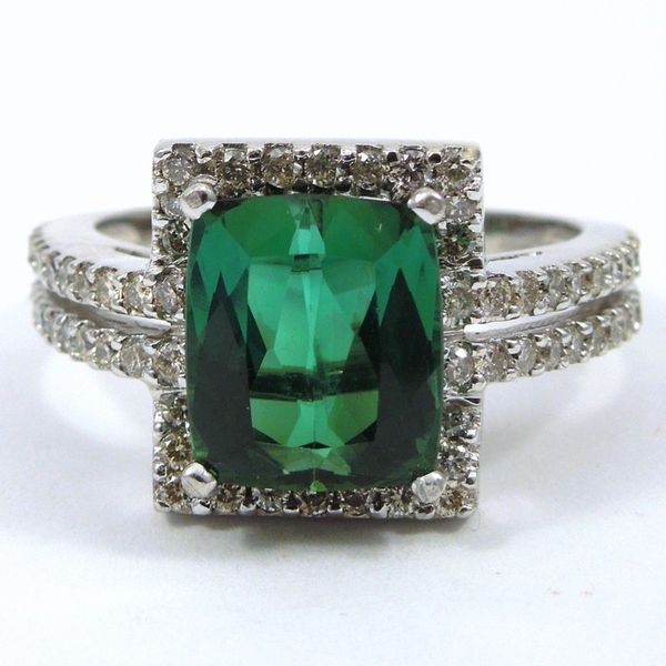 Green Tourmaline Ring Joint Venture Jewelry Cary, NC