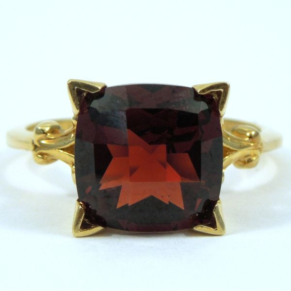 Garnet Ring Joint Venture Jewelry Cary, NC