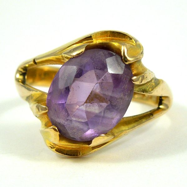 Amethyst Bypass Ring Joint Venture Jewelry Cary, NC