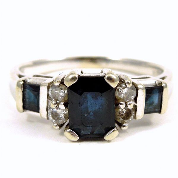 Sapphire & Diamond Ring Joint Venture Jewelry Cary, NC
