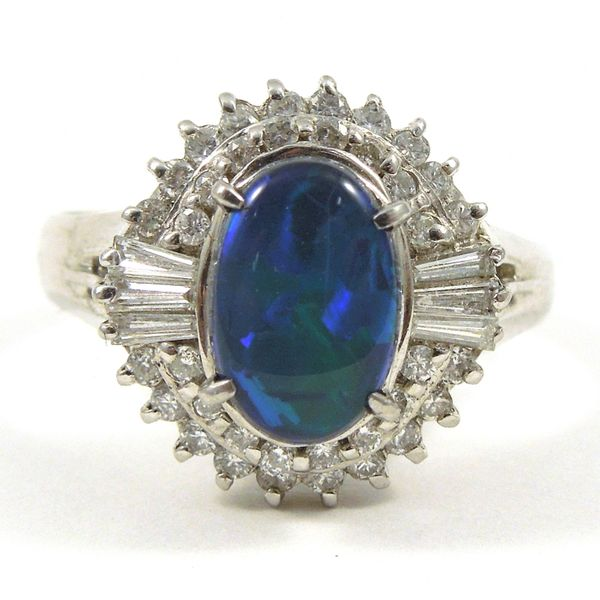Boulder Black Opal Ring Joint Venture Jewelry Cary, NC