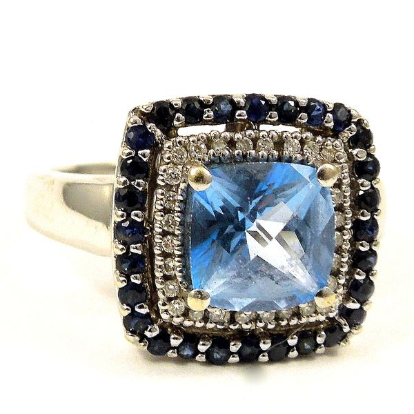 LeVian Blue Topaz Ring Joint Venture Jewelry Cary, NC