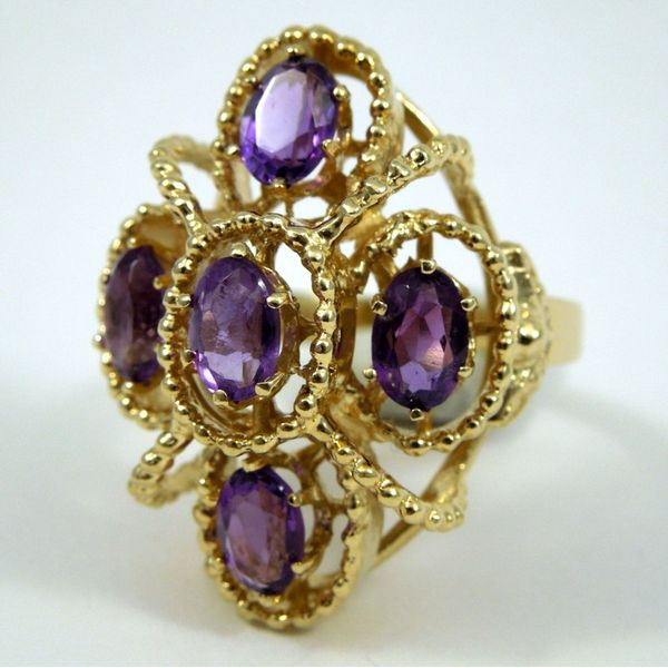 Amethyst Ring Image 2 Joint Venture Jewelry Cary, NC