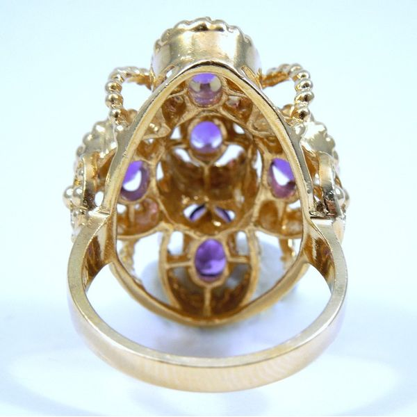 Amethyst Ring Image 3 Joint Venture Jewelry Cary, NC