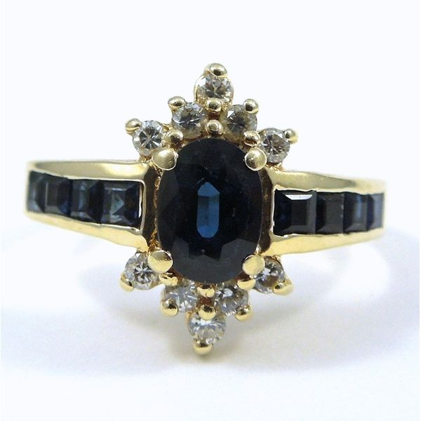 Sapphire and Diamond Ring Joint Venture Jewelry Cary, NC