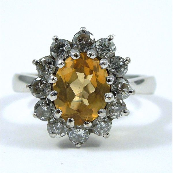 Yellow Sapphire Ring Joint Venture Jewelry Cary, NC