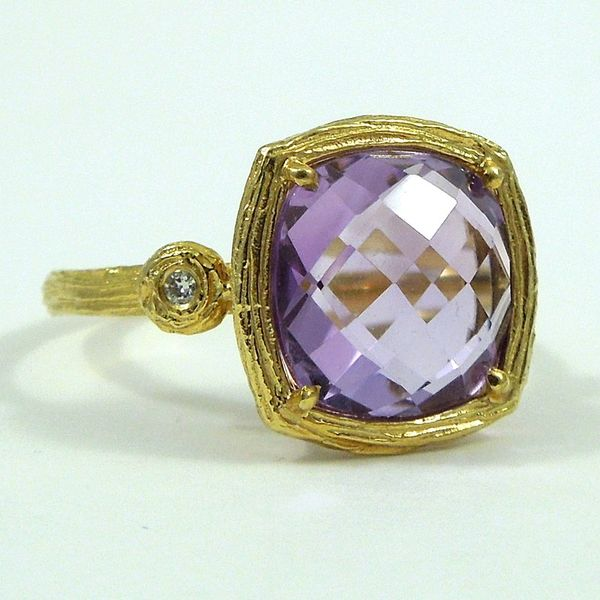 Amethyst Ring Joint Venture Jewelry Cary, NC