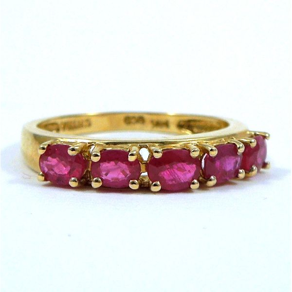 Ruby Band Joint Venture Jewelry Cary, NC