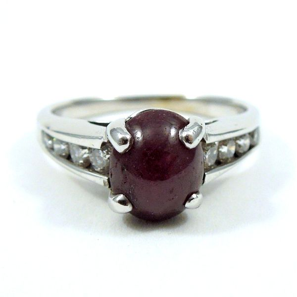 Star Ruby Ring Joint Venture Jewelry Cary, NC