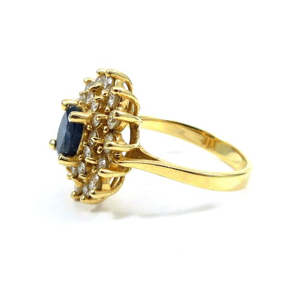 Sapphire and Diamond Ring Image 2 Joint Venture Jewelry Cary, NC