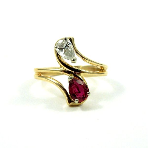 Ruby and Diamond Ring Joint Venture Jewelry Cary, NC