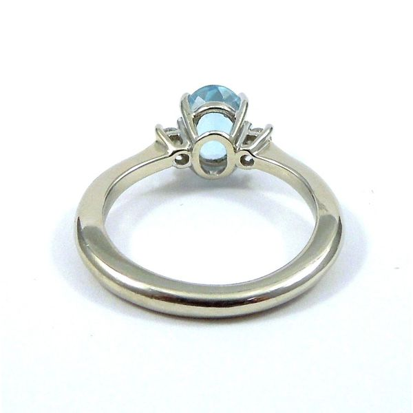 Aqua Ring Image 2 Joint Venture Jewelry Cary, NC