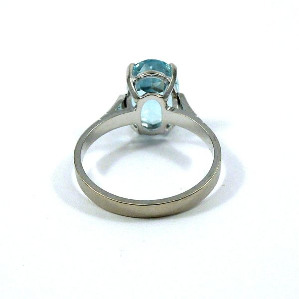 Aquamarine Ring Image 2 Joint Venture Jewelry Cary, NC