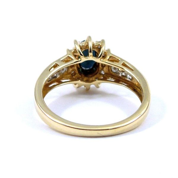Sapphire and Diamond Ring Image 3 Joint Venture Jewelry Cary, NC
