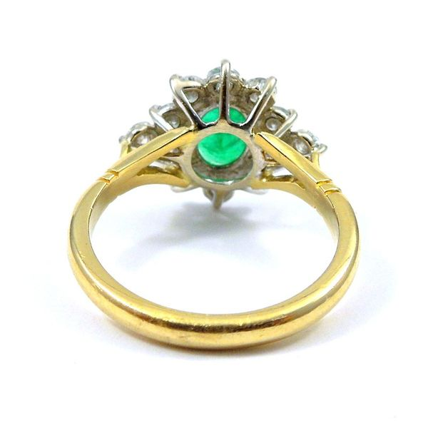 Emerald and Diamond Ring Image 2 Joint Venture Jewelry Cary, NC