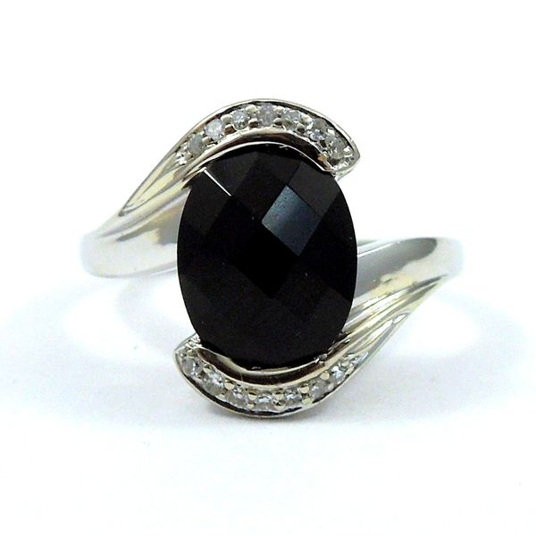 Onyx and Diamond Ring Joint Venture Jewelry Cary, NC