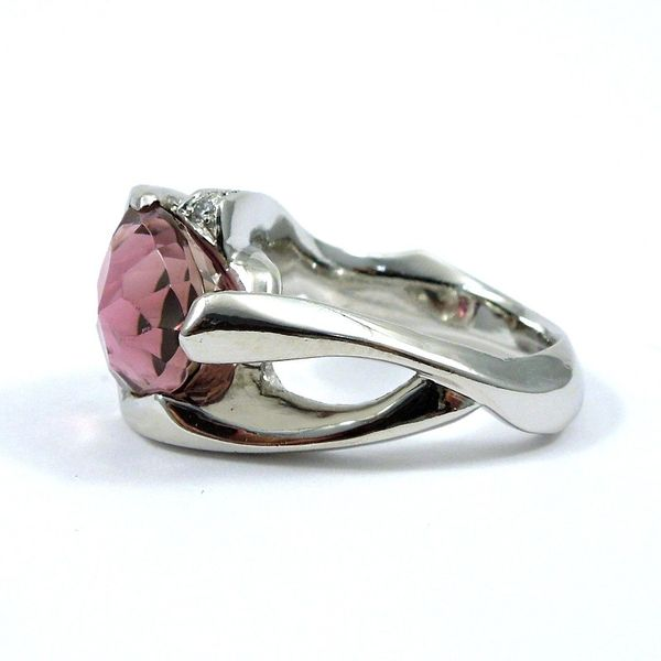 Pink Tourmaline Ring Image 2 Joint Venture Jewelry Cary, NC