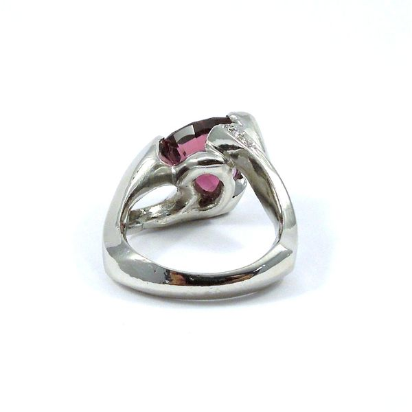 Pink Tourmaline Ring Image 3 Joint Venture Jewelry Cary, NC