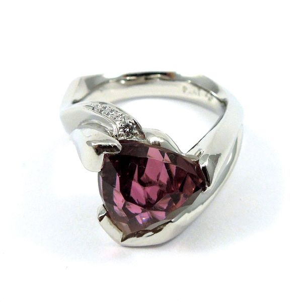 Pink Tourmaline Ring Joint Venture Jewelry Cary, NC