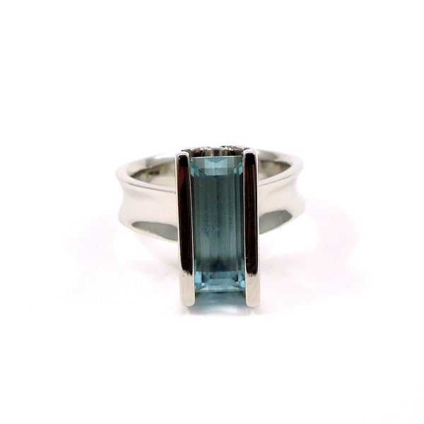 Aquamarine Ring Joint Venture Jewelry Cary, NC