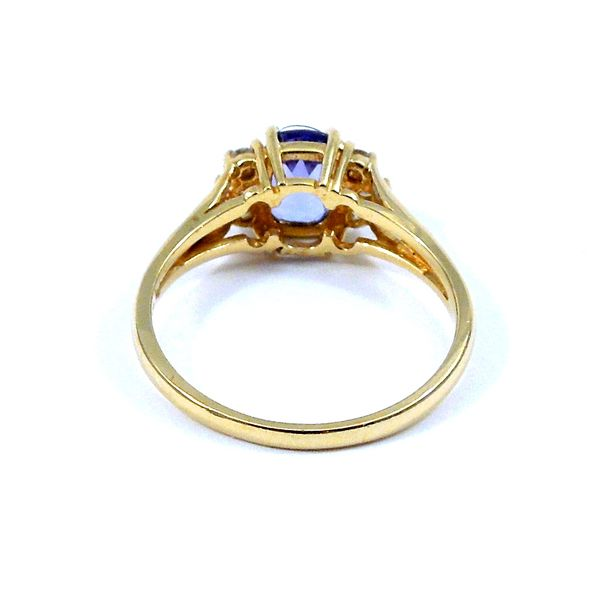 Tanzanite and Diamond Ring Image 3 Joint Venture Jewelry Cary, NC