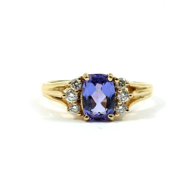 Tanzanite and Diamond Ring Joint Venture Jewelry Cary, NC