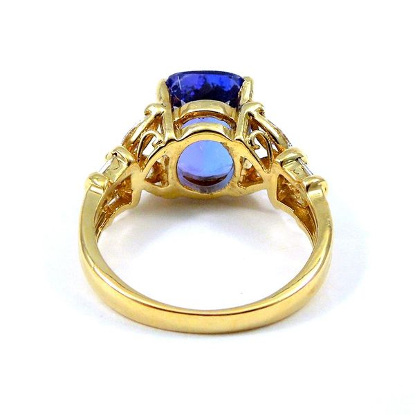 Tanzanite & Diamond Ring Image 3 Joint Venture Jewelry Cary, NC