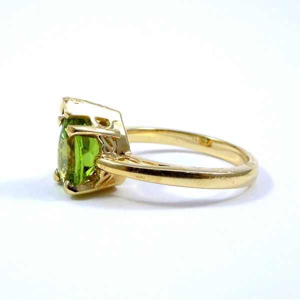 Peridot Ring Image 2 Joint Venture Jewelry Cary, NC