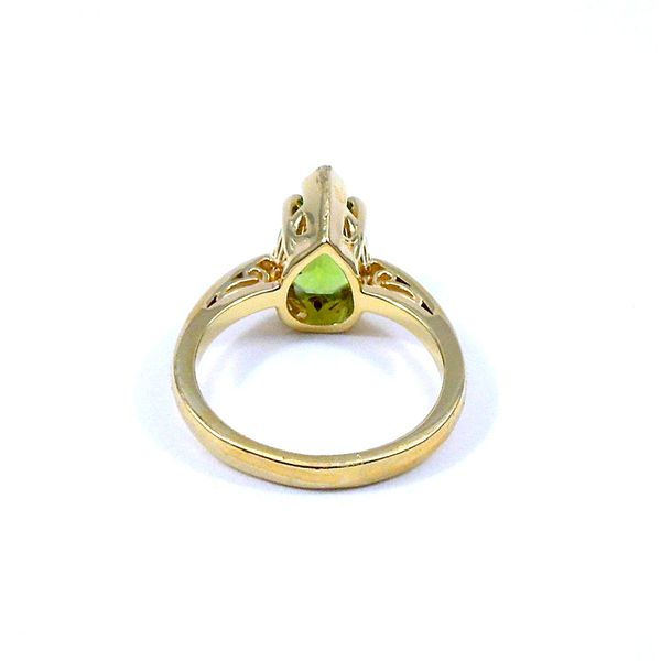 Peridot Ring Image 3 Joint Venture Jewelry Cary, NC