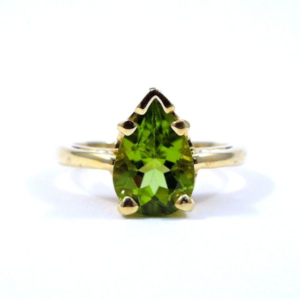 Peridot Ring Joint Venture Jewelry Cary, NC