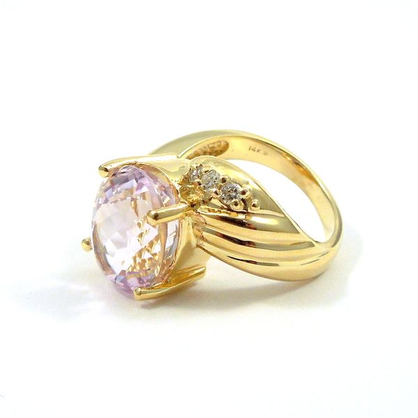 Rose de France Amethyst Ring Image 2 Joint Venture Jewelry Cary, NC