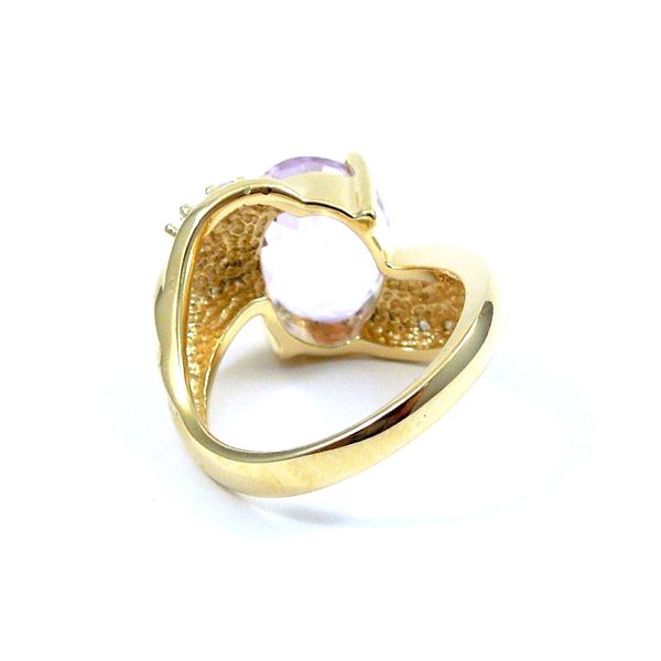 Rose de France Amethyst Ring Image 3 Joint Venture Jewelry Cary, NC