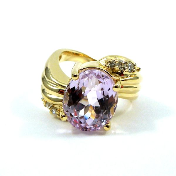 Rose de France Amethyst Ring Joint Venture Jewelry Cary, NC