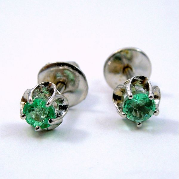 Emerald Earrings Joint Venture Jewelry Cary, NC