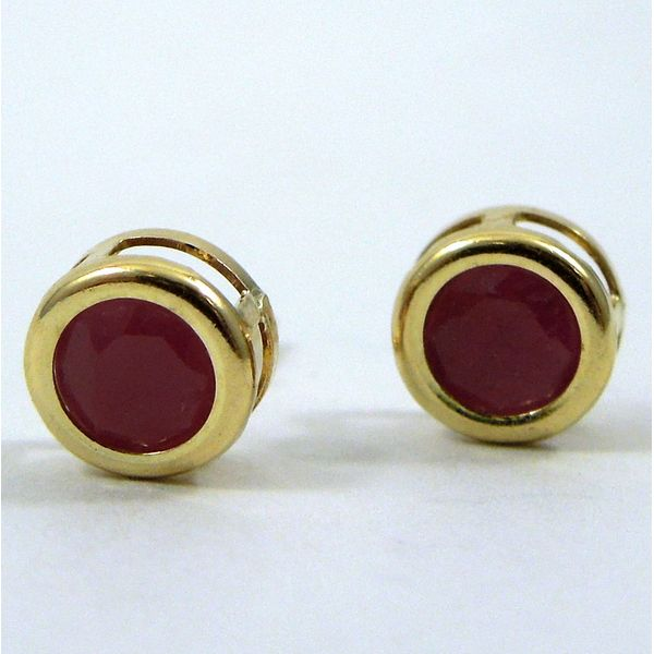 Ruby Studs Joint Venture Jewelry Cary, NC