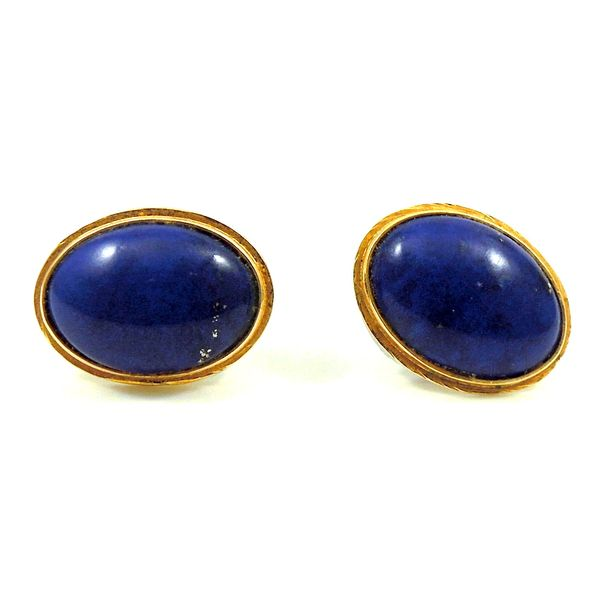 Lapis Earrings Image 2 Joint Venture Jewelry Cary, NC