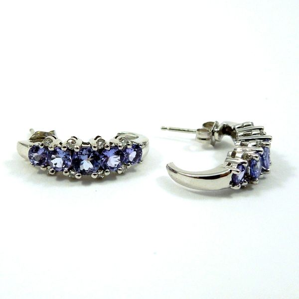 Tanzanite Earrings Joint Venture Jewelry Cary, NC