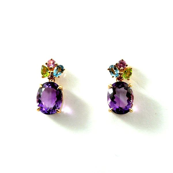 Amethyst Earrings Joint Venture Jewelry Cary, NC
