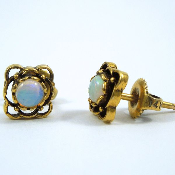 Opal Earrings Joint Venture Jewelry Cary, NC
