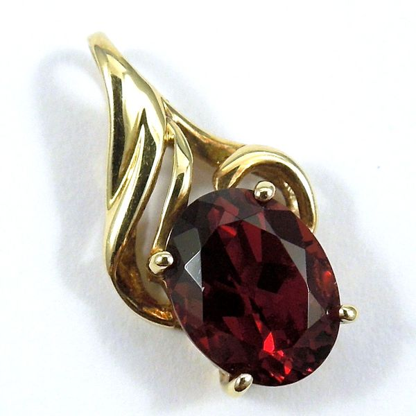 Garnet Pendant Joint Venture Jewelry Cary, NC