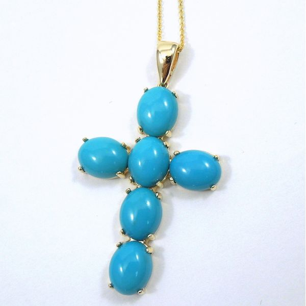Turquoise Cross Joint Venture Jewelry Cary, NC