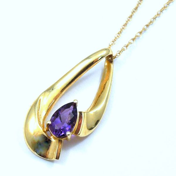 Amethyst Slide Joint Venture Jewelry Cary, NC