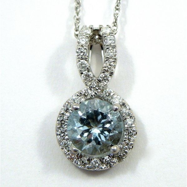 Aquamarine Pendant Joint Venture Jewelry Cary, NC