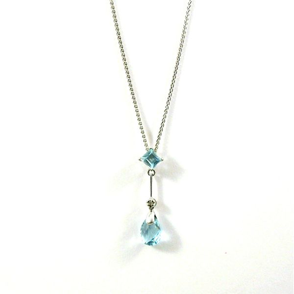 Aquamarie Necklace Joint Venture Jewelry Cary, NC