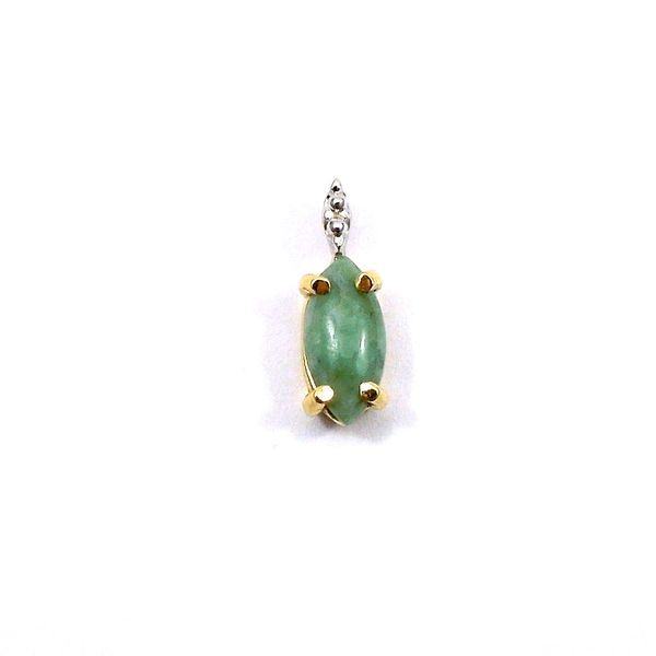 Jade and Diamond Pendant Joint Venture Jewelry Cary, NC