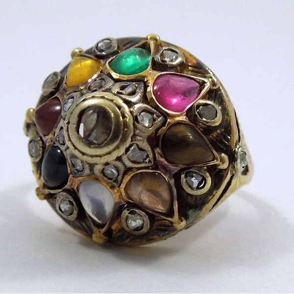 Vintage Multi-Stone ring Joint Venture Jewelry Cary, NC