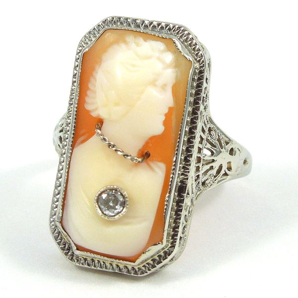 Vintage Cameo Ring Joint Venture Jewelry Cary, NC