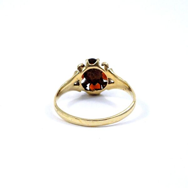 Vintage Garnet and Pearl Ring Image 3 Joint Venture Jewelry Cary, NC