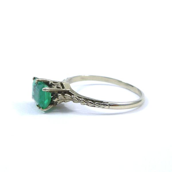Vintage Emerald Ring Image 2 Joint Venture Jewelry Cary, NC