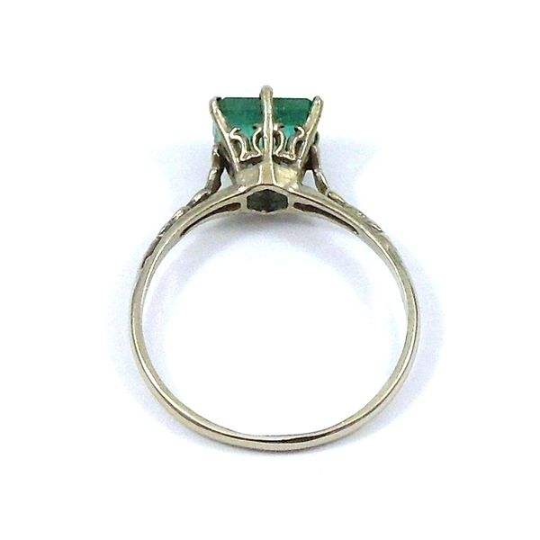 Vintage Emerald Ring Image 3 Joint Venture Jewelry Cary, NC